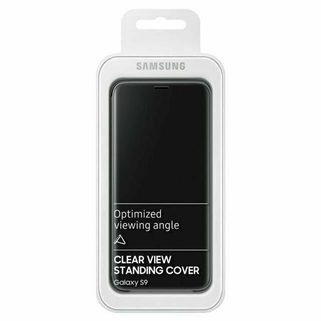 clear view standing cover samsung s9