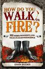 How Do You Walk on Fire?: 101 weird, wonderful and wacky puzzles with science by Erwin Brecher (Hardback, 2010)