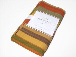 Pottery-Barn-Multi-Colors-Logan-Stripe-Euro-Pillow-Cover-Sham-New