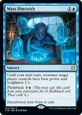 Kadena Slinking Sorcerer 045//302 Foil Near Mint MTG Commander 2019 C19