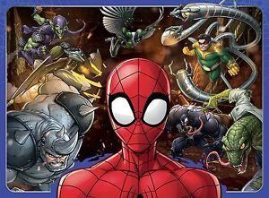 NUOVO-MARVEL-RAVENSBURGER-Fearless-Spiderman-Puzzle-100-PEZZI-10728