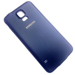 check out 66e2d e2017 Details about Genuine Samsung Galaxy S5 Neo G903 rear battery  cover+waterproof seal Black back