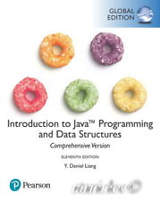 Introduction to Java Programming and Data Structures, Comprehensive Version by Y. Daniel Liang (2017, Paperback)