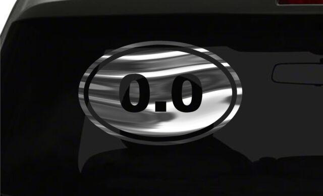 50K Running Sticker Marathon oval euro all chrome /& regular vinyl color choices