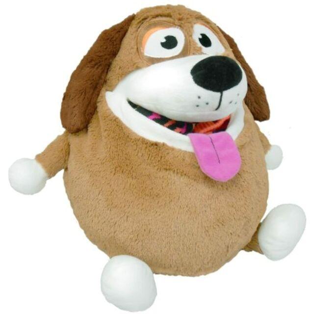 Tummy Stuffers Plush Toy Brown Dog