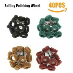 40x-1-039-039-25mm-Abrasive-Wheel-Buffing-Polishing-Pad-Kit-Grinding-Dremel-Rotary-Tool