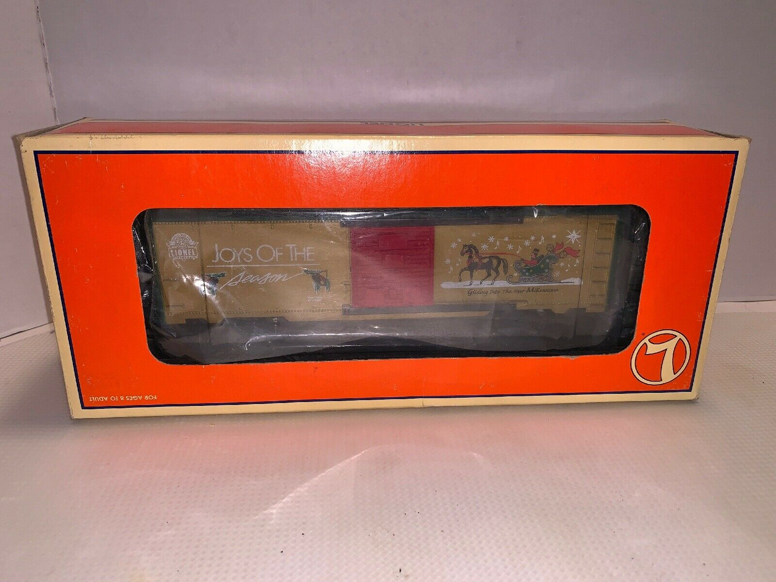 Lionel 626718 oro musica natalizia railsuonos scatolaauto 2000