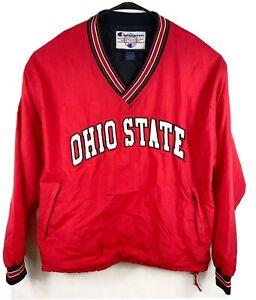 Vintage-Ohio-State-Buckeyes-1919-Champion-Pull-Over-Windbreaker-Jacket-M-Large