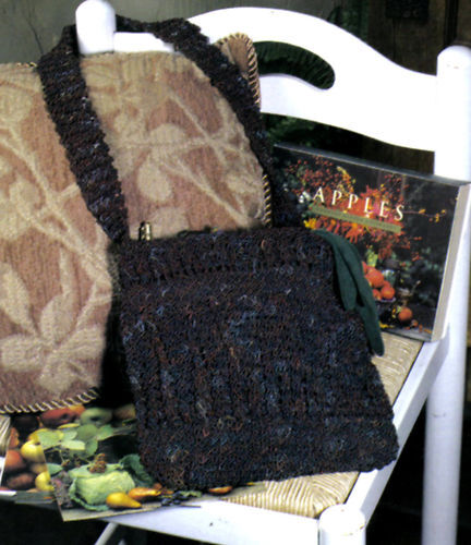 HANDY All-Around Purse//Tote//Bag//Crochet Pattern INSTRUCTIONS ONLY