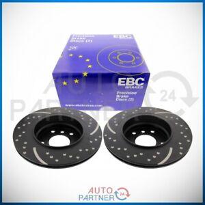 EBC-for-BMW-E46-Turbo-Groove-Brake-Disc-Brake-Disc-294-Rear-Axle