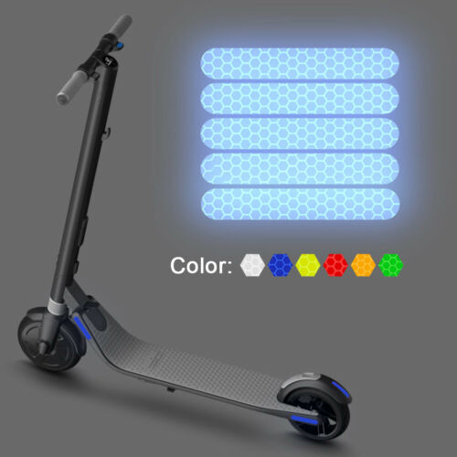 4pcs Reflective Stickers For Ninebot ES Electric Scooter Reflector Accessories