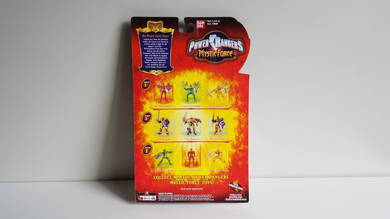 Power Rangers Mystic Force - - - RED MYSTIC LIGHT POWER RANGER Action Figure NEW MOC 0a8f76