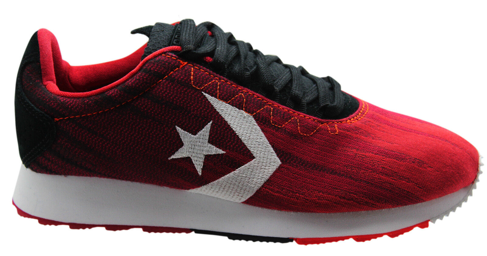 Converse Novo Racer Ox Mens Low D7 Trainers Red Black 147428C D7 Low 50c738