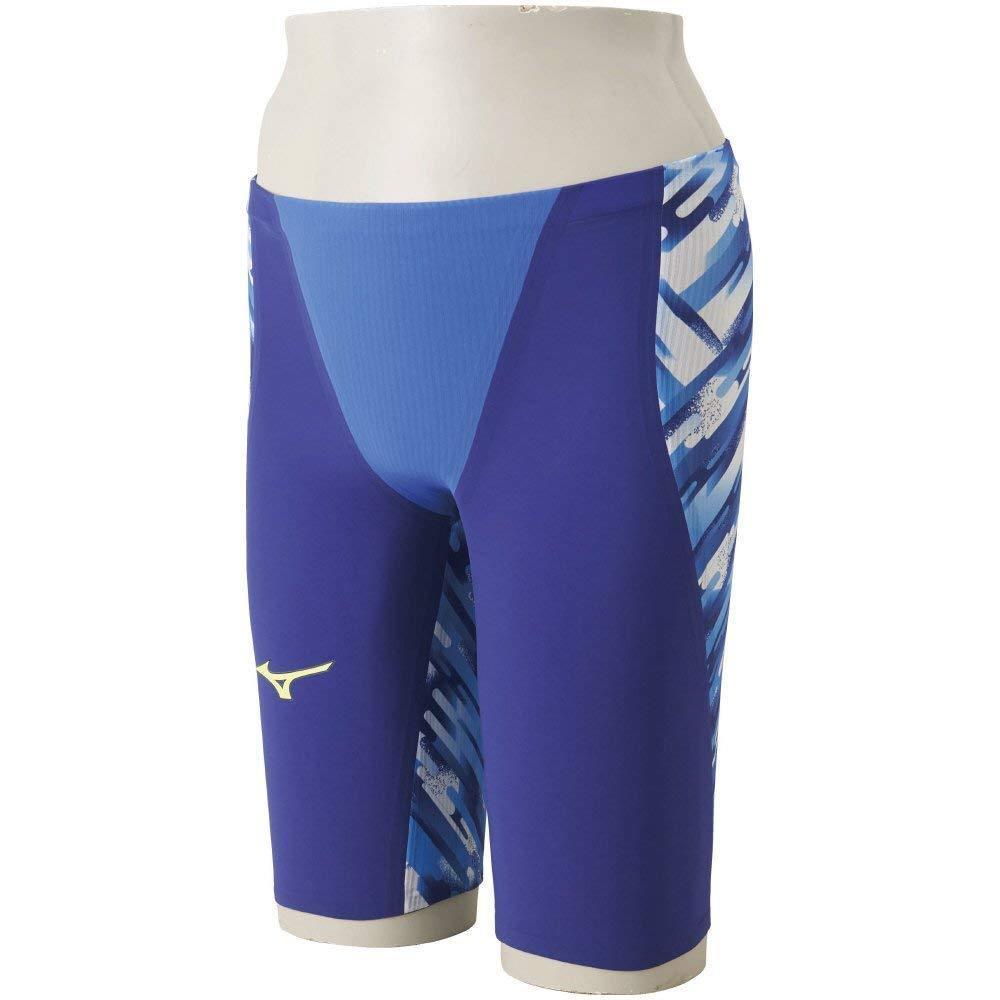 F S MIZUNO Swimsuit Men GX-SONIC III ST FINA N2MB6001 blueee Size L Japan