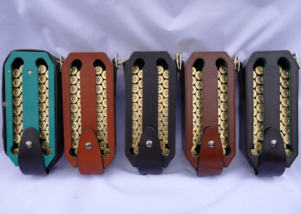 Sinclairs Loadmaster Premium Leather Cartridge Loader Case Holder Shotgun