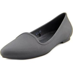ce66e1b9c6dcbd Crocs Eve Flat Women US 9 Black Flats 2289 for sale online
