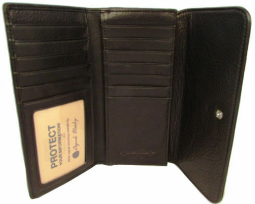 Osgoode Marley RFID Accordion Card File Black