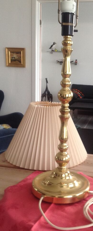 Lamper : Diverse lamper messing + malm
