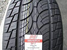 2 New 285/40R24 Nankang SP-7 Tires 2854024 285 40 24 R24 40R