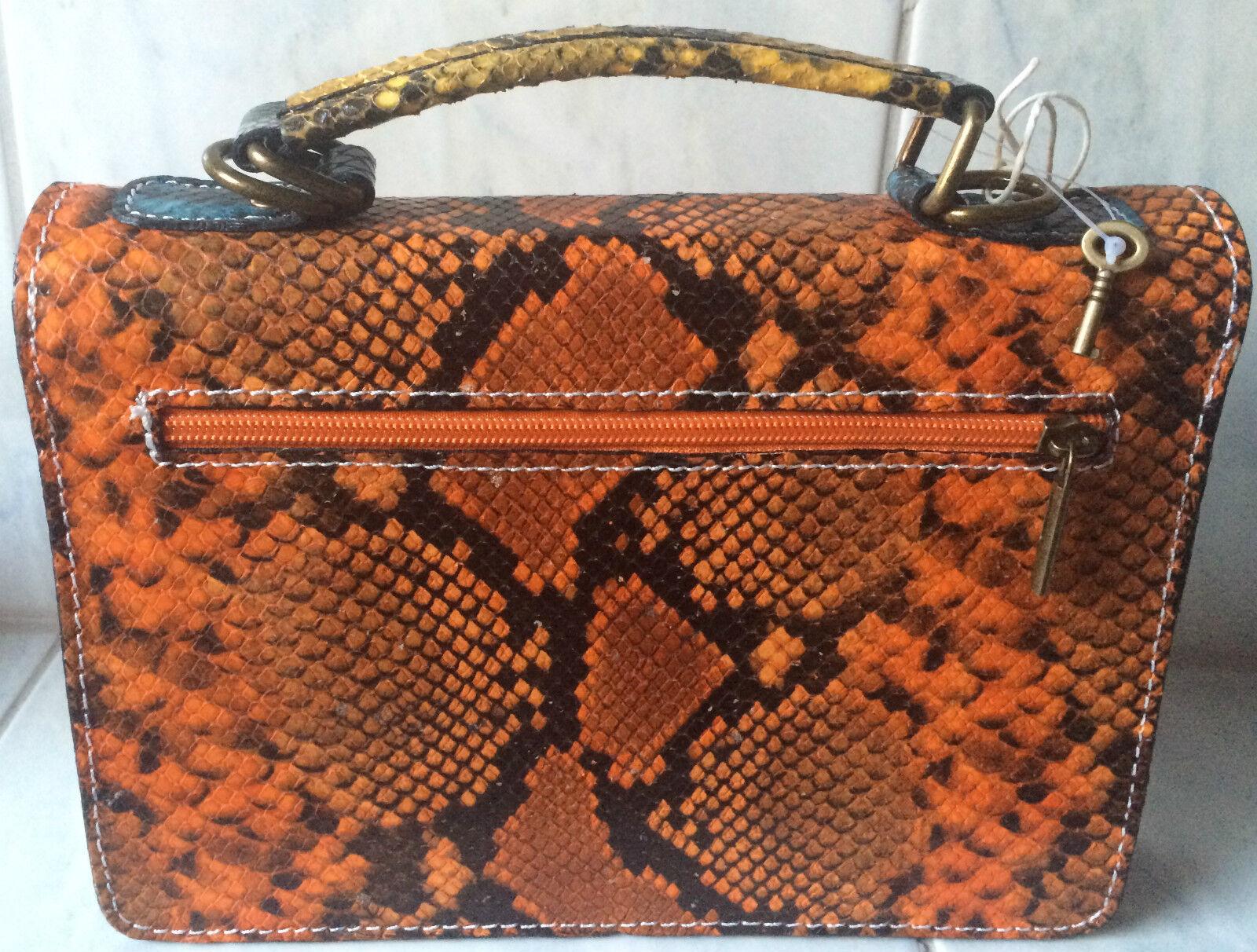 Ebarrito Handtasche echt Leder Handarbeit Schlange Krokomuster bunt Luxus       | Online Store  | Gewinnen Sie das Lob der Kunden  | Verschiedene Arten und Stile  6617d4