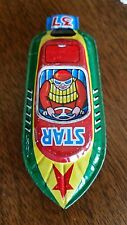 Vintage Tin Litho Whistle Star Boat JAPAN ~Ray Rohr Cosmic Artifacts
