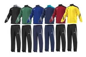 Adidas-Garcons-Survetement-Enfants-Junior-complet-Sports-Football-Tracksuits-Top-Bottoms