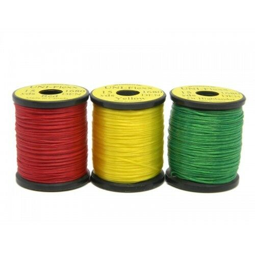 Colour Choice Super Stretch Fly Tying Floss 2 x Fly Tying Uni Flex FlexiFloss