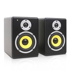 AKTIV-DJ-STUDIO-MONITOR-LAUTSPRECHER-PAAR-5-034-SUBWOOFER-BOXEN-SET-120W-SOUND