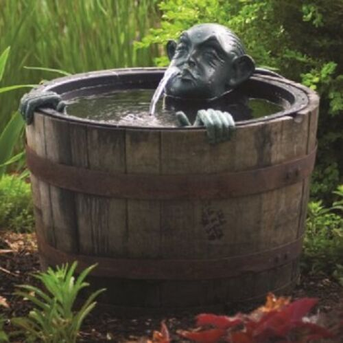 Aquascape® Poly-Resin Spitter Man in Barrel