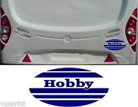 2 x OVAL HOBBY CARAVAN STICKERS DECALS GRAPHICS CAN BE MADE ANY COLOUR OR SIZE