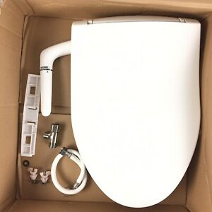 Kohler K 5724 0 Puretide Elongated Manual Bidet Toilet Seat White 885612445919 Ebay