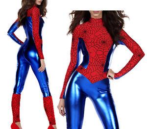 Spiderman-Woman-Donna-Vestito-Carnevale-Spider-Woman-Cosplay-Costume-SPIWO02