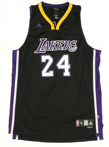 Details about Adidas Kobe Bryant #24 Black Swingman Jersey