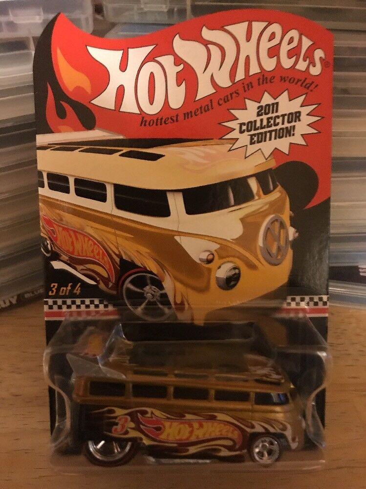 2011 hot wheels collectors edition vw bus t1 ziehen