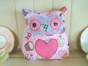 Owl-Cushion-Craft-Kit-Patchwork-Sewing-Craft-Kit-Children-amp-Adults-Fun-amp-Simple