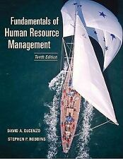 Fundamentals of Human Resource Management by David A. DeCenzo and Stephen P....