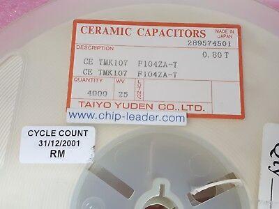 Pack of 10  0402YG104ZAT2A  Multilayer Ceramic Capacitors  0.1UF 16V Y5V 0402 SM