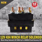 NEW 4X4 12V Winch Relay Solenoid 500A Up To 16800LB Truck Recovery Free Delivery