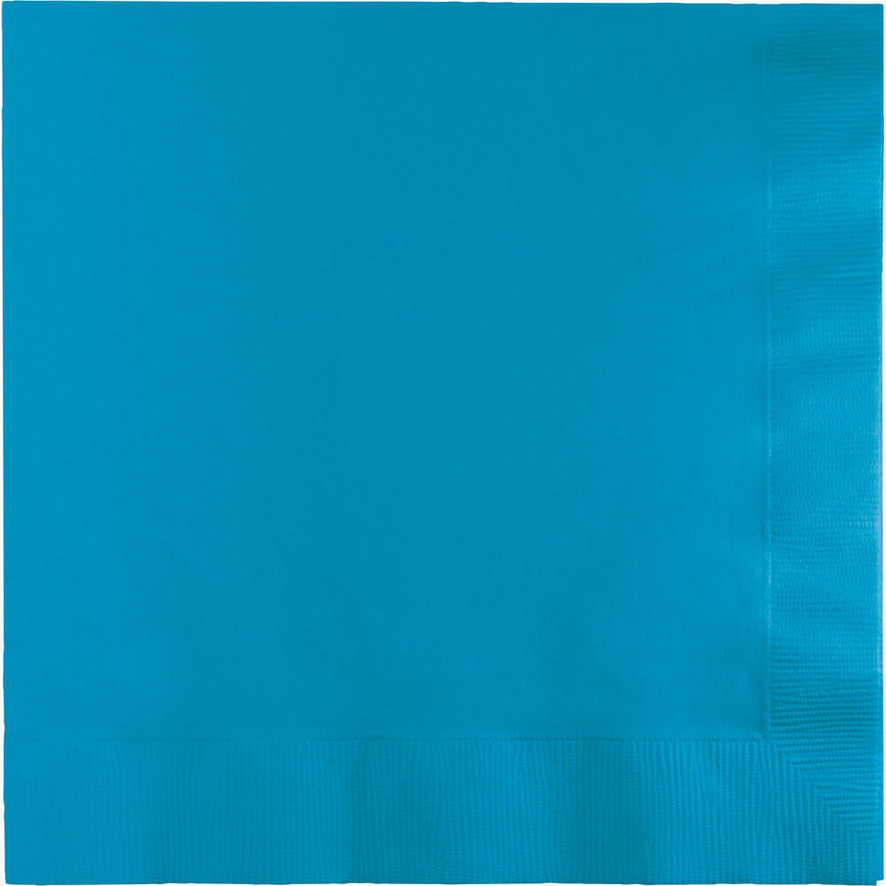 2ply 100 gorgeous TURQUOISE lunch//dinner napkins for party//event disposable