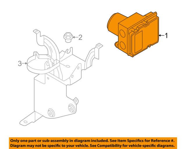 audi oem 05-08 a6 quattro abs anti-lock brakes-hydraulic unit 4f0614517h