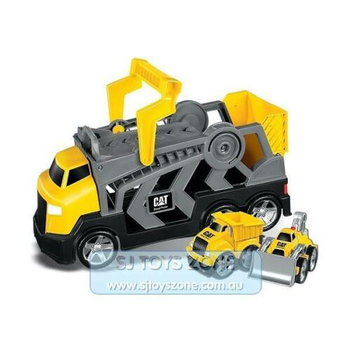 Megablocks  CAT Tiny n Tuff Race N Go Rig Constructor with Dump Truck and Dozer