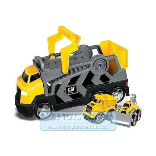 Megablocks  CAT Tiny n Tuff Race N Go Rig Constructor with Dump Truck and Dozer