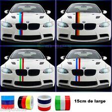 STICKERS DECO BMW Bande Autocollant  3 Couleurs 100cm x 15cm  MOTORSPORT M VYNIL