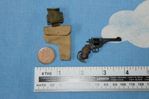 DID Dragon in Dreams 1:6TH SCALA WW2 British Airborne ENFIELD MK1 Revolver Roy
