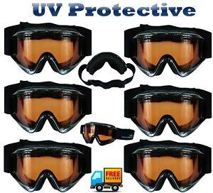 Childrens-Kids-Ski-Snow-Goggles-UV-Protection-Anti-Fog-Snow-Protect-Glasses