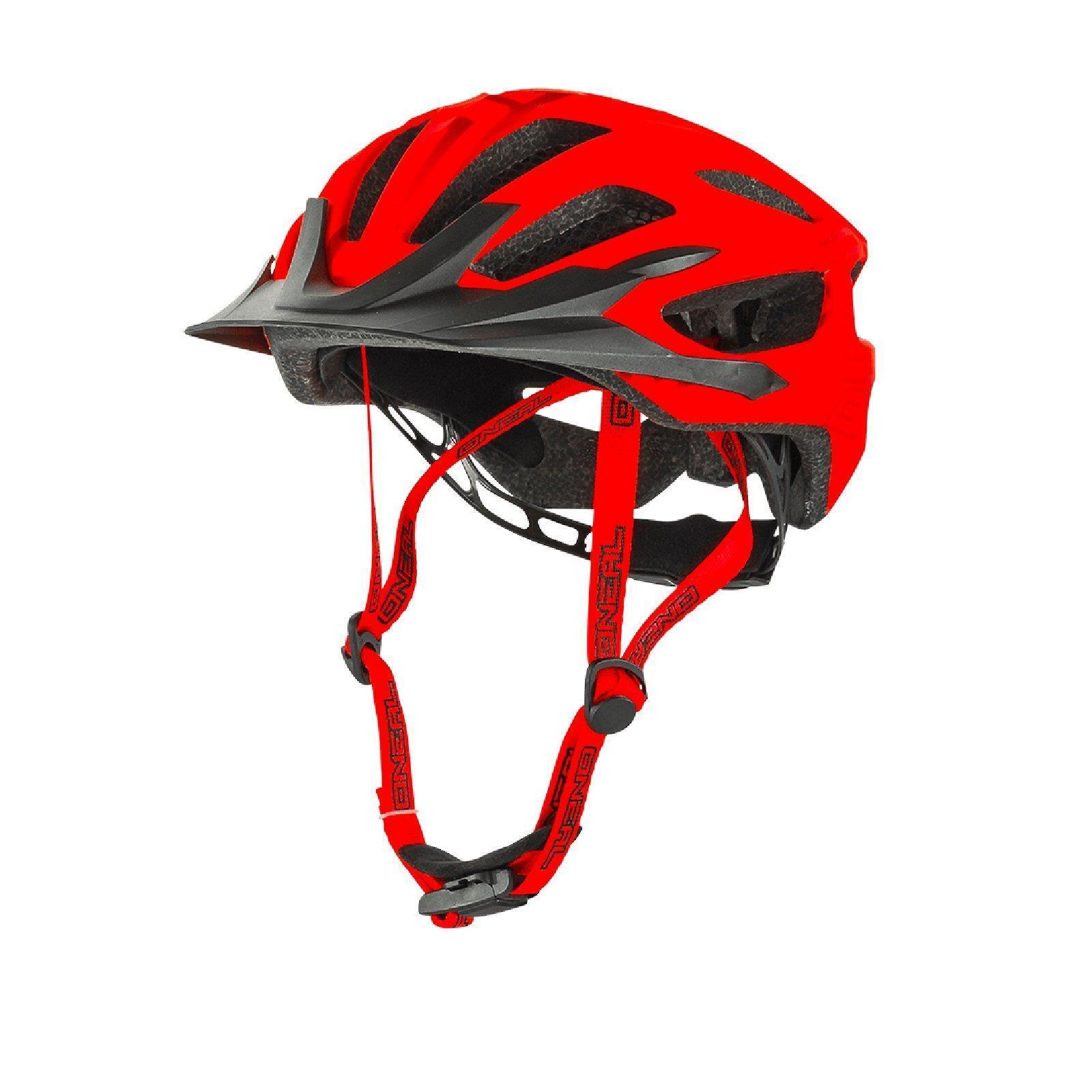 ONEAL Q RL Helmet MTB rot All Mountain Fahrrad Enduro Trail Fahrrad on Freeride DH