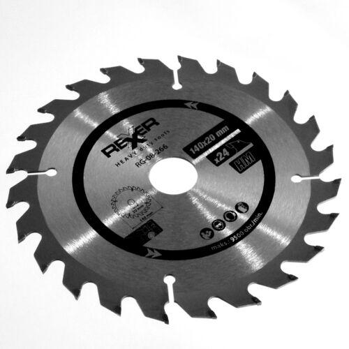 HSS//HM Kreissägeblätter Ø 140 x 20 mm 16//24//60 Zähne mit Reduzierungen