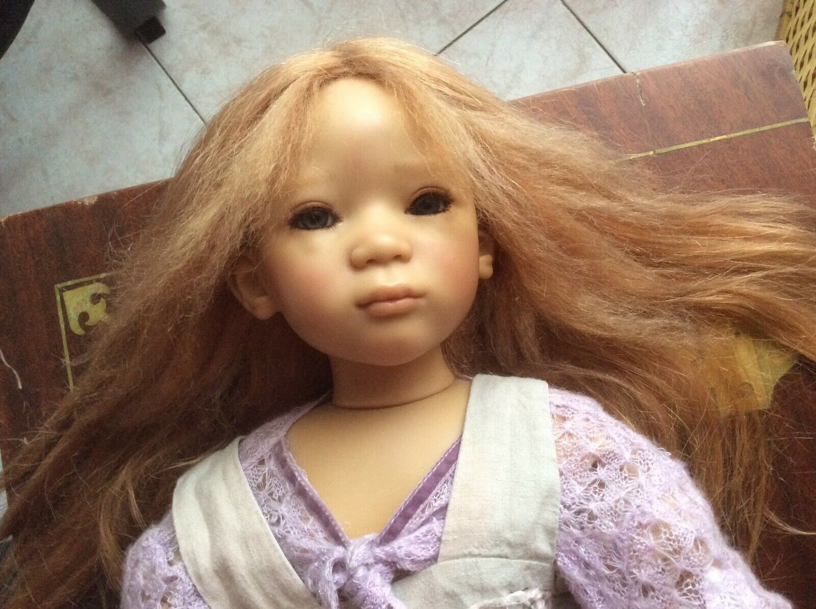 Bambola Annette Himstedt Cinderella BELLISSIMA      ...vintage.bambola  prezzo basso