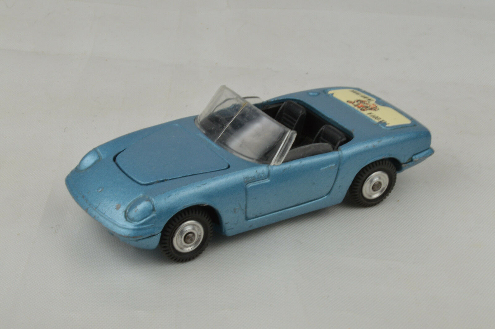 Corgi Lotus Elan S2  Tiger In My TanK  3 1 2  Long 1965-67 England Ex