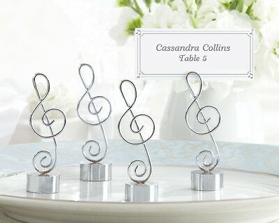 96 Music Note Wedding Place Card Photo Holders Favors